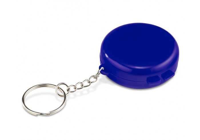 Pill Case Keyholder - Blue