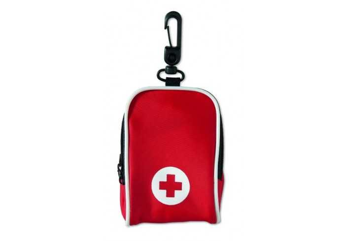 Backpack First Aid Kit - Red