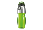 800ml Sports Water Bottle with Foldable Drinking Spout - Lime