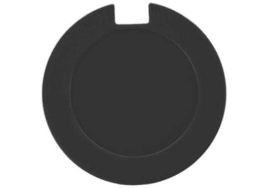 License Disk Holder with sticker - Black