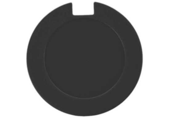 License Disk Holder with sticker - Black