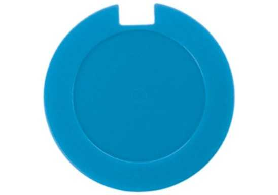 License Disk Holder with sticker - Cyan