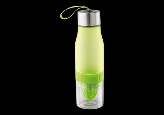 650ml Fruit Juicer Water Bottle - Lime