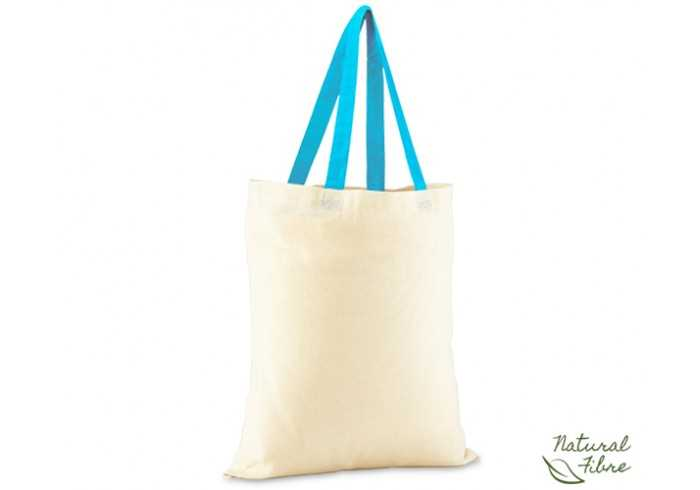 Cotton Natural Fibre Bag - Aqua