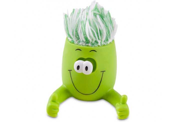 Eye Popper Toy Screen Cleaner And Phone Stand - Lime
