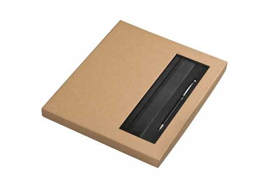 Notebook And Pen Set - Black