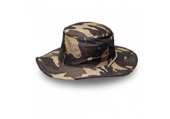 Safari Wide Brim - Camo Green