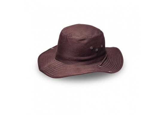 Safari Wide Brim - Chocolate