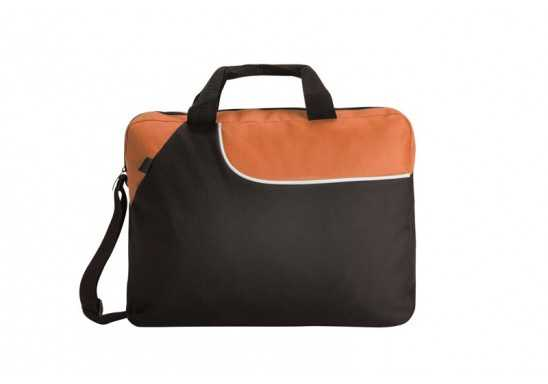 Weekend Conference Bag - Black/Orange