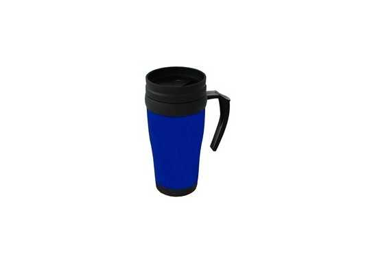 Plastic Travel Mug - Blue