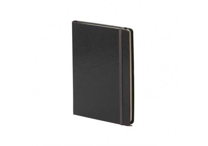 A5 Journal with Strap - Black