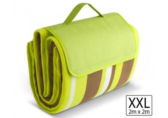 Good Life XL 2x2 Metre Picnic Blanket - Lime