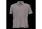 Barron Pique Knit Golfer - Grey