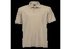 Barron Pique Knit Golfer - Khaki