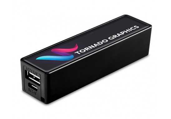 VIVID 2000MAH Powerbank - Black