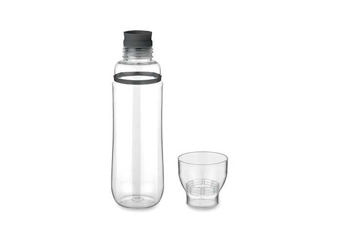 2 in 1 Bottle - Black