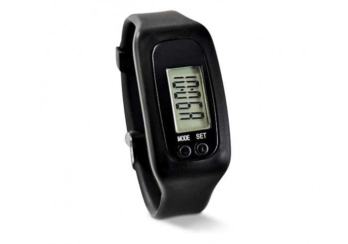 Strider Pedometer Watch - Black