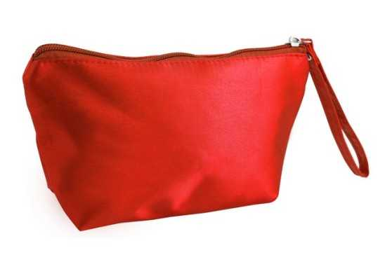 Midi Cosmetic Bag - Red