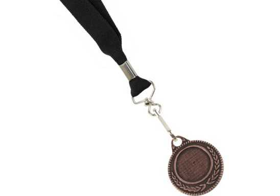 Ribbon with Bronze Medal - Black