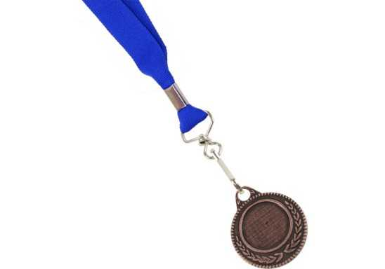 Ribbon with Bronze Medal - Blue