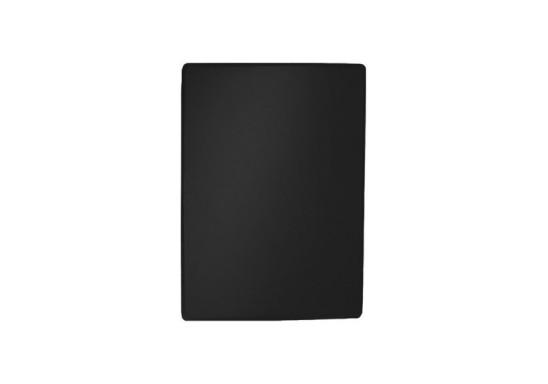 Rectangle PVC Mousepad - Black