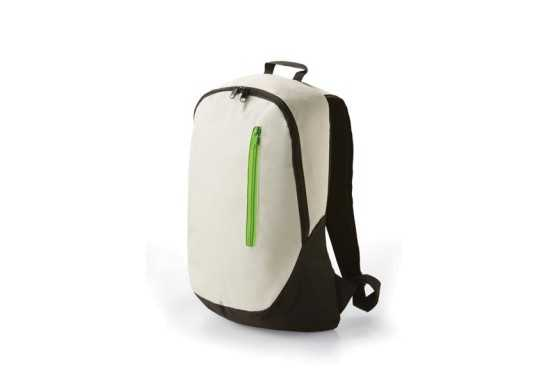 Side Zip Back Pack - Lime
