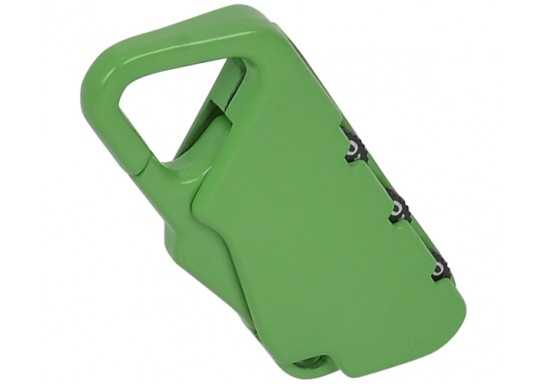 Combination Lock - Green