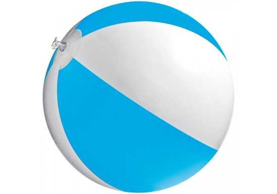Bicoloured Beach Ball - Cyan