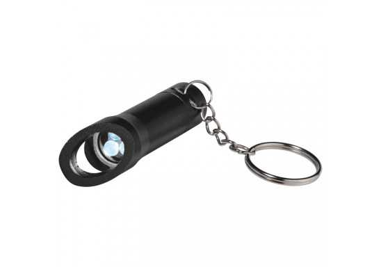 Torch With Bottle Opener - Black