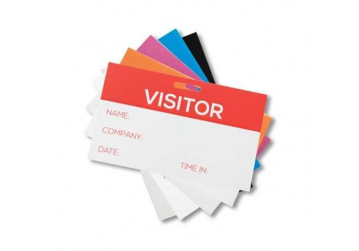 FC Visitors badges