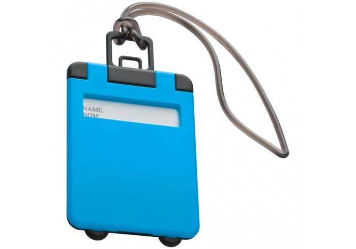 Luggage Tag - Cyan