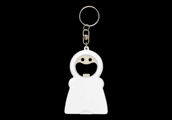 3 In 1 Funny Face Keychain