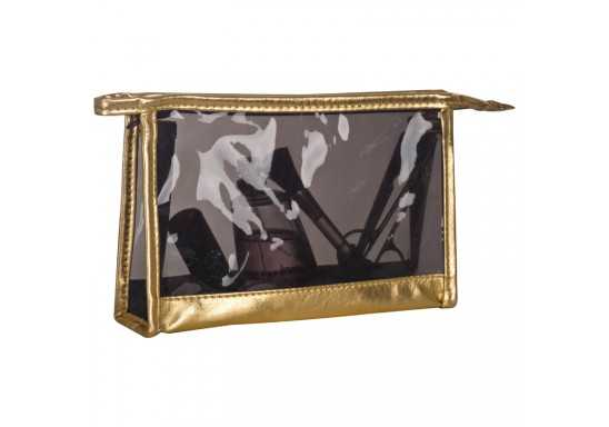 Cosmetic Bag - Gold