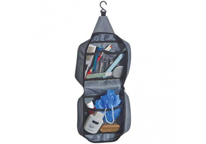 Polyester Toiletry Bag With A Practical Hook