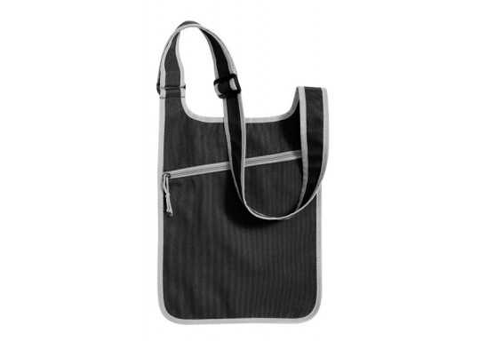 Messenger Shoulder Bag - Black