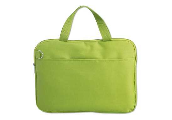 Document Bag - Lime