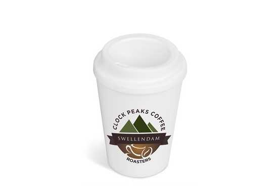 Americana Double-Wall Tumbler - White