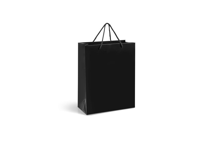 Dazzle Midi A4 Gift Bag - Black