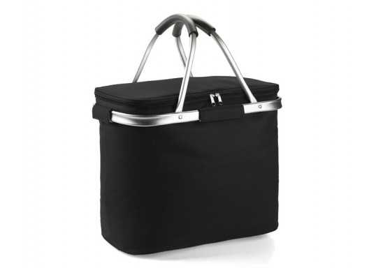 Picnic Cooler Basket - Black