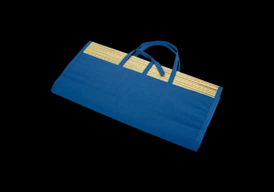 Straw Mat - Blue
