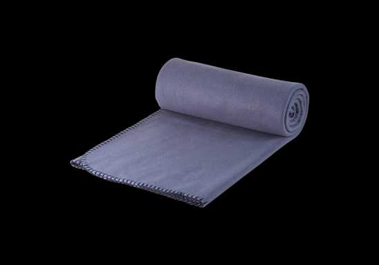 Polar Fleece Blanket - Grey