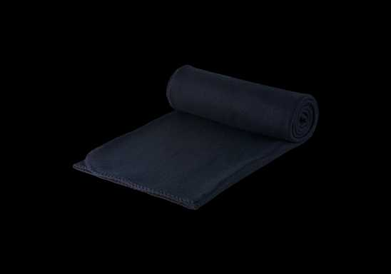 Polar Fleece Blanket - Black