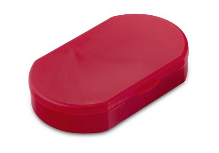 Trizone Pill Case - Red