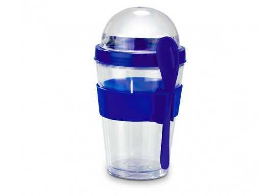 Yo-On-The-Go Breakfast Cup - Blue