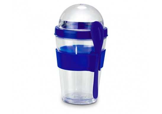 Yo-On-The-Go Breakfast Cup - Blue