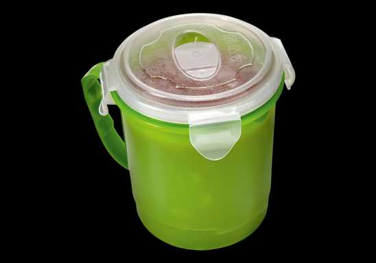720ml Microwaveable Mug - Green