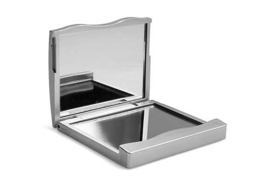 Double Compact Square Mirror