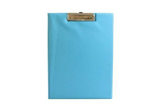 Texas A4 Clipboard Folder - Aqua