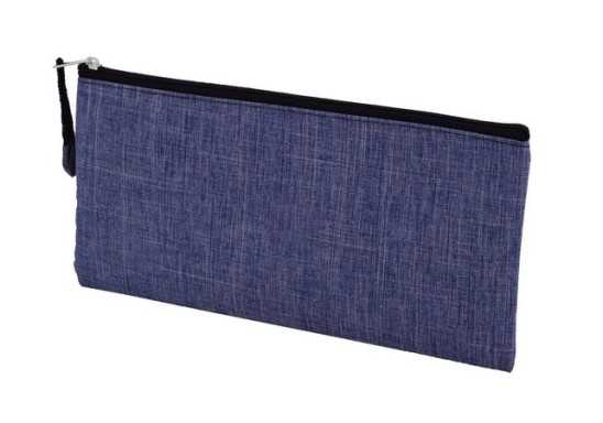 Denim Pencil Case - Blue