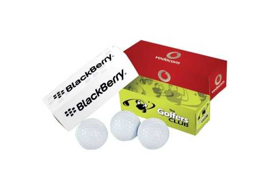 Golf Balls - Pack of 3